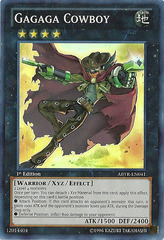 Gagaga Cowboy - ABYR-EN041 - Super Rare - 1st Edition on Channel Fireball