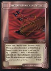 Arrows Shorn of Ebony