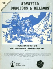 AD&D: G2 The Glacial Rift of the Frost Giant Jarl 9017