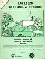 AD&D: D2 Shrine of the Kuo-Toa 9020