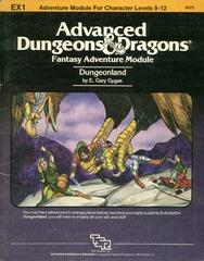 AD&D: EX1 Dungeonland 9072