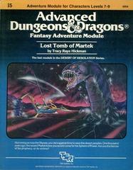 AD&D I5: Lost Tomb of Martek 9054