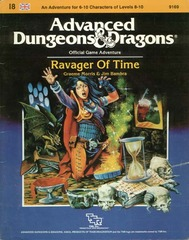 AD&D I8: Ravager of Time 9169