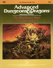 AD&D: H3 The Bloodstone Wars 9200