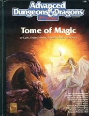 AD&D 2e - Tome of Magic 2121 HC