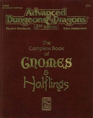 AD&D 2E - The Complete Book of Gnomes and Halflings 2134
