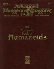 AD&D2E PHBR10 - The Complete Book of Humanoids 2135