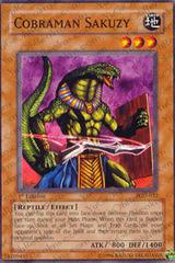 Cobraman Sakuzy - PGD-032 - Common - 1st Edition on Channel Fireball