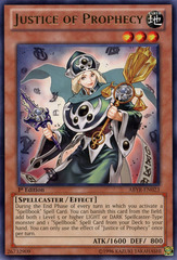 Justice of Prophecy - ABYR-EN023 - Rare - Unlimited Edition