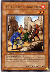 A-Team: Trap Disposal Unit - RDS-EN033 - Rare - 1st Edition on Channel Fireball
