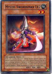 Mystic Swordsman LV2 - SOD-EN011 - Rare - 1st Edition