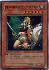 Penumbral Soldier Lady - SOD-EN033 - Super Rare - 1st Edition