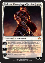 Gideon, Champion of Justice - Foil on Channel Fireball