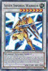 Seven Swords Warrior - SP13-EN048 - Starfoil Rare - Unlimited Edition