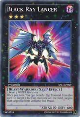 Black Ray Lancer - SP13-EN029 - Starfoil Rare - 1st Edition