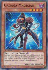 Gagaga Magician - SP13-EN002 - Starfoil Rare - 1st Edition on Channel Fireball