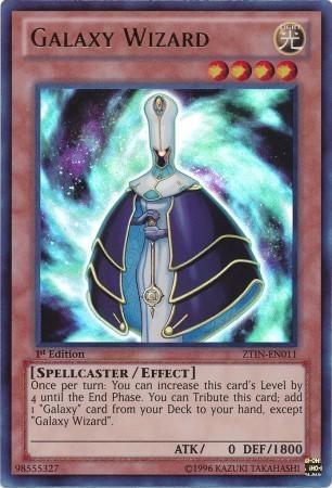 Galaxy Wizard - ZTIN-EN011 - Ultra Rare - 1st Edition