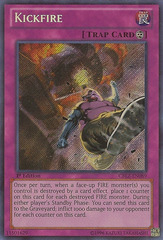 Kickfire - CBLZ-EN089 - Secret Rare - Unlimited Edition