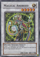 Magical Android - TDGS-EN043 - Super Rare - 1st Edition