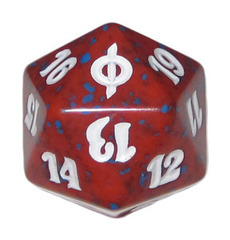 Magic Spindown Die - New Phyrexia Red