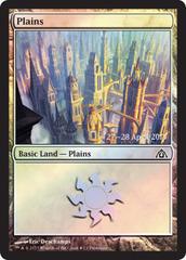 Plains FOIL - Dragon's Maze Prerelease