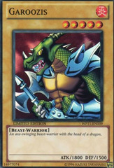 Garoozis - WP11-EN009 - Super Rare - Limited Edition on Channel Fireball