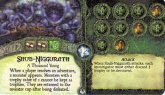 Elder Sign: Arkham Nights 2012 Promotional Ancient One Card