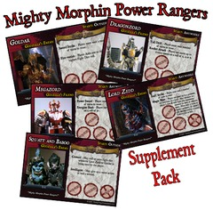 Last Night on Earth 'Mighty Morphin' Supplement (fan expansion for Last Night on Earth)