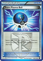 Team Plasma Ball - 105/116 - Uncommon