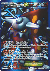 Heatran-EX - 109/116 - Full Art