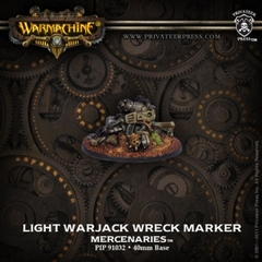 Mercenary Light Warjack Wreck Marker