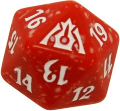 20 Sided Spindown Die - Dragon's Maze (Boros) on Channel Fireball