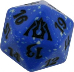 20 Sided Spindown Die - Dragon's Maze (Dimir) on Channel Fireball