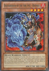 Brotherhood of the Fire Fist - Buffalo - LTGY-EN029 - Rare - 1st