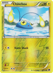 Chinchou - 35/116 - Common - Reverse Holo