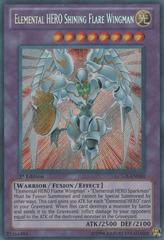 Elemental HERO Shining Flare Wingman - LCGX-EN050 - Secret Rare - Unlimited Edition