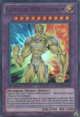 Elemental HERO Electrum - LCGX-EN052 - Ultra Rare - Unlimited Edition