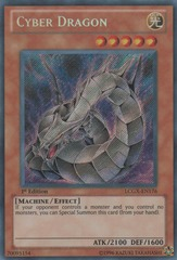 Cyber Dragon - LCGX-EN176 - Secret Rare - Unlimited Edition