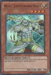 Wulf, Lightsworn Beast - LCGX-EN248 - Ultra Rare - Unlimited Edition