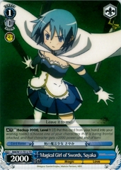 Magical Girl of Swords, Sayaka - W17-TE12 - TD