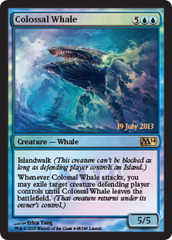 Colossal Whale - Launch Promo