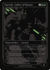 Garruk, Caller of Beasts (SDCC Promo) on Channel Fireball