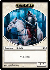 Knight Token - Return to Ravnica League promo