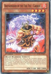 Brotherhood of the Fire Fist - Caribou - JOTL-EN027 - Common - 1st Edition on Channel Fireball