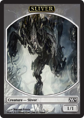 Sliver Token - Magic 2014 League Promo on Channel Fireball