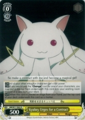 MM/W17-E003 R Kyubey Urges for a Contract