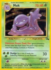Muk - 13/62 - Holo Rare - Unlimited Edition