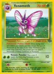 Venomoth - 29/64 - Rare - Unlimited Edition