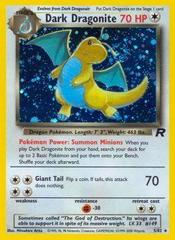 Dark Dragonite - 5/82 - Holo Rare - Unlimited Edition