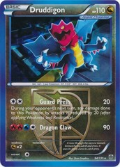 Druddigon - 94/135 - Cracked Ice Holo Plasma Claw Theme Deck Exclusive